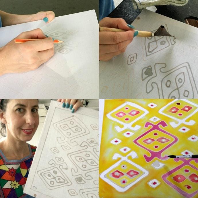 creating a batik design
