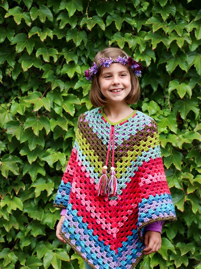Free Crochet Poncho Patterns Australia : Lets Try: Self Striping Yarn Cakes + 2 BONUS Crochet ...