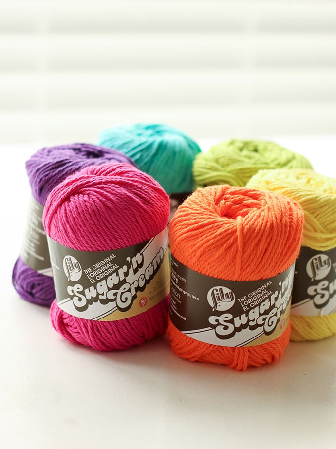 Sugar n Cream Cotton Yarn in Australia - mypoppet.com.au