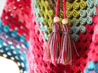 How to make a yarn tassel - mypoppet.com.au