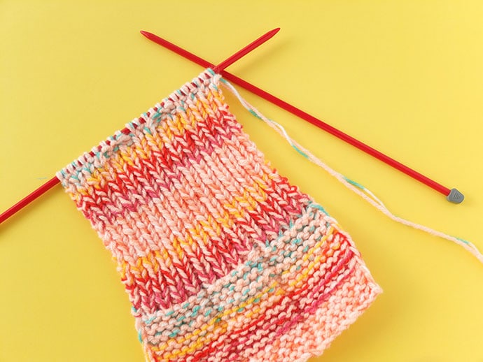 How to knit slippers - mypoppet.com.au