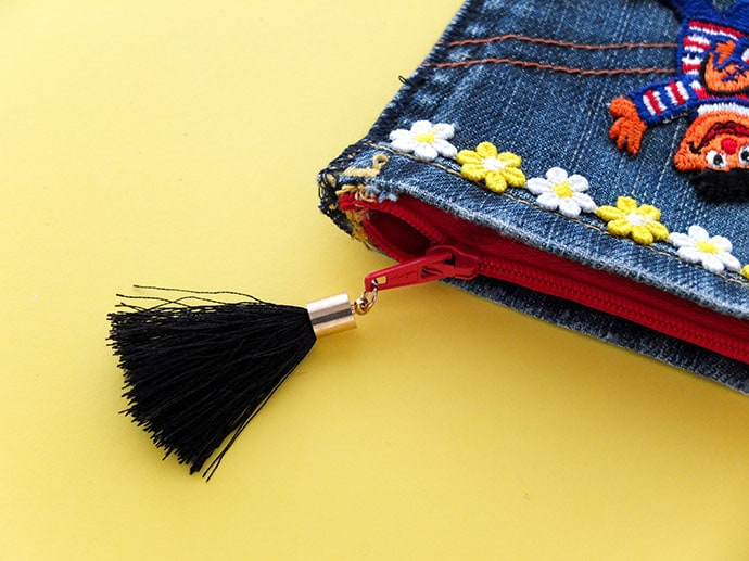 Add a tassel zipper pull