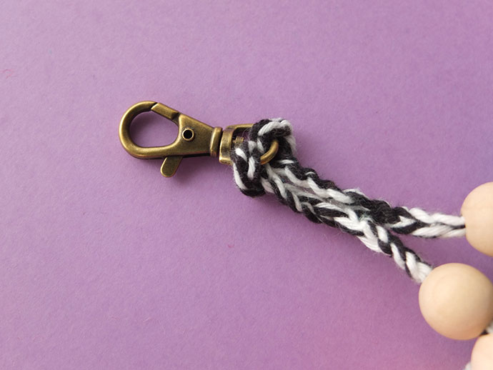 how to make a key ring chain