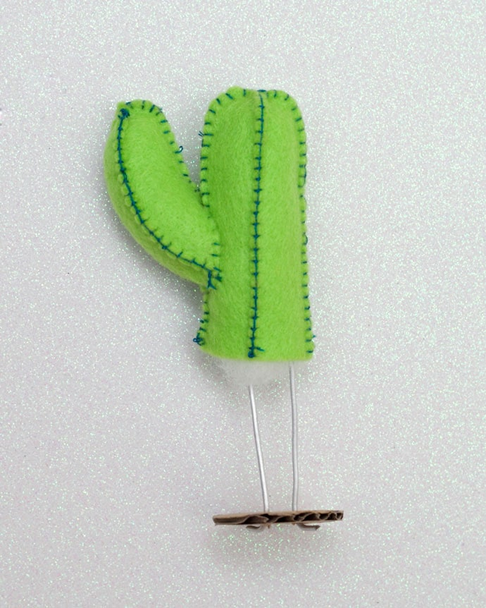 Felt Craft: Pop Cactus mypoppet.com.au