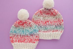 Speckled Beanie Knitting Pattern