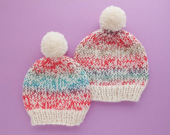 knitted beanie pattern