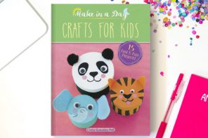 I made a book! Presenting Make in a Day – Crafts for Kids