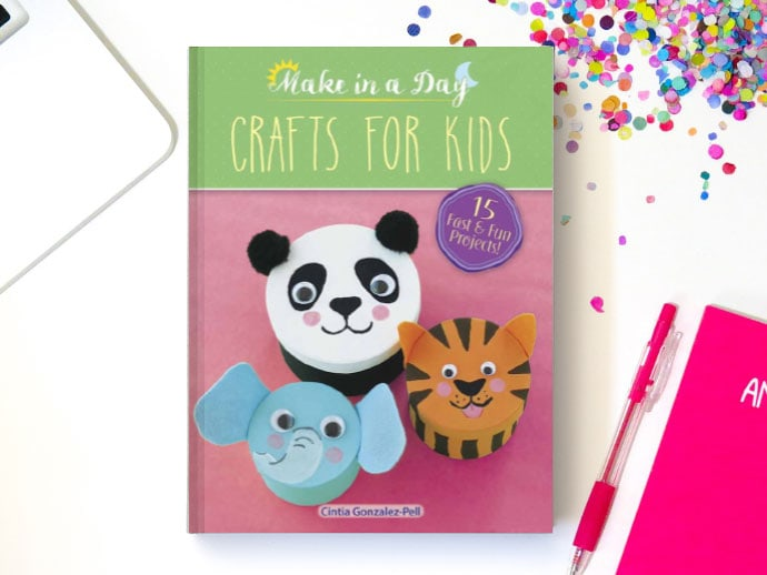 I Made A Book Presenting Make In A Day Crafts For Kids My