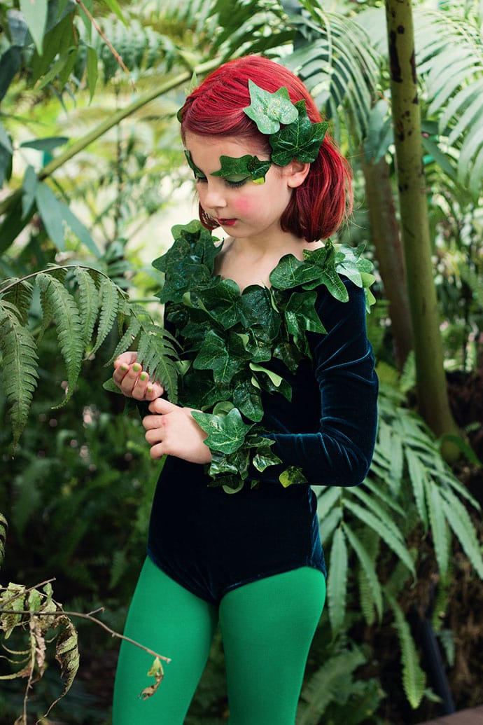 How-to Poison Ivy Costume