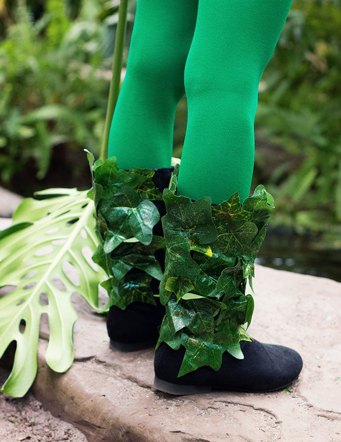 Poison Ivy Cosplay Costume boots- mypoppet.com.au