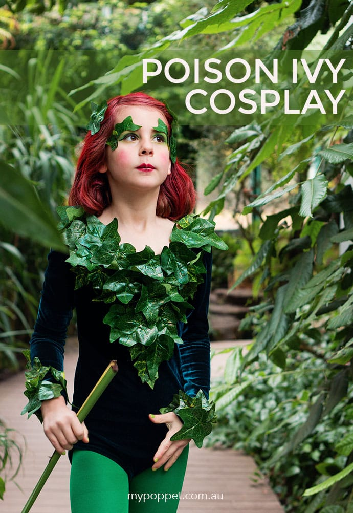 DIY: Poison Ivy Costume Cosplay | My Poppet Makes