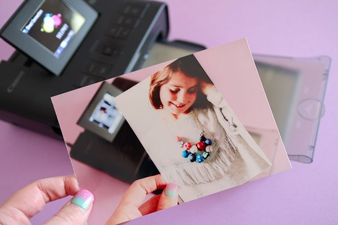 personal portable photo printer - Canon Selphy CP1200