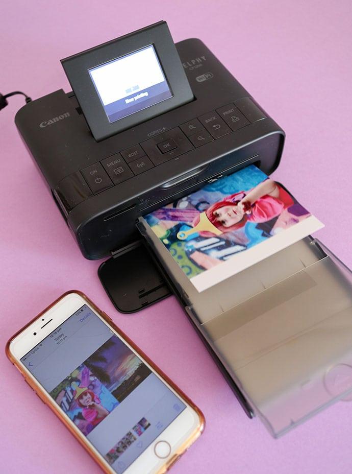 iPhone printing photos