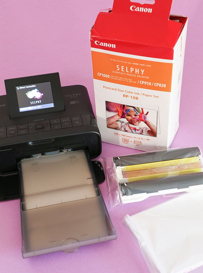 Canon Selphy CP1200 printer review