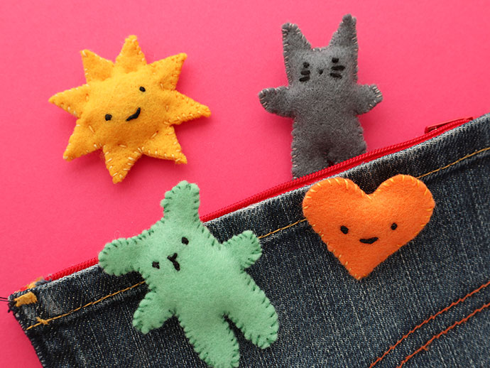 Sew a softie - Pocket pal mypoppet.com.au