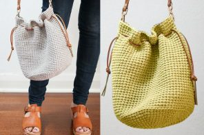 Crochet Bucket Bag Free Pattern mypoppet.com.au
