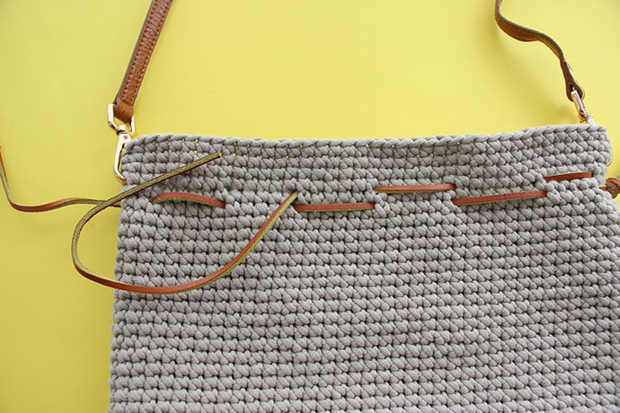 Crochet Pattern Drawstring Bucket Bag My Poppet Makes