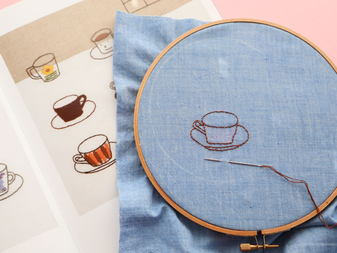 How To Transfer Embroidery Patterns Onto Dark Fabric My Poppet Makes
