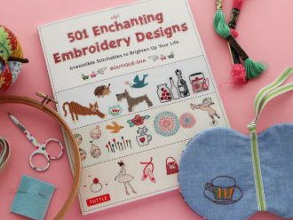 501 Enchanting Embroidery Designs - Book review - mypoppet.com.au