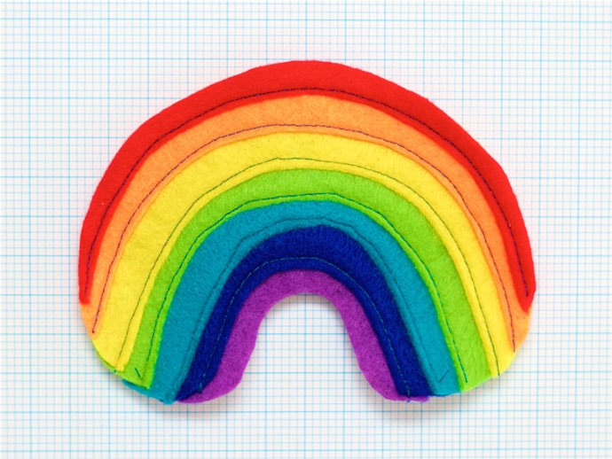 Felt Craft Rainbow - mypoppet.com.au