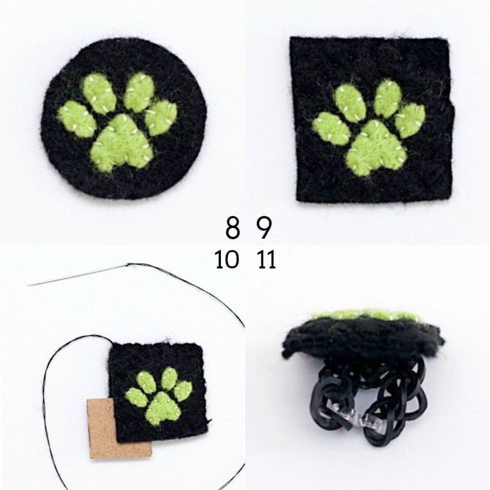 DIY cat noir ring - mypoppet.com.au