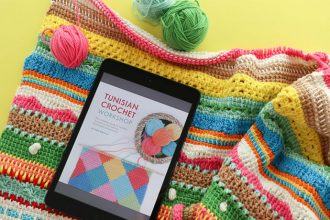 Craft Book Review - Tunisian Crochet Workshop