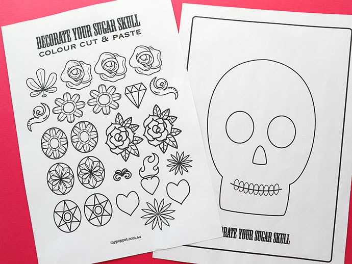 23 Staggering Coloring Skull Pictures Photo Ideas – azspring | 518x690
