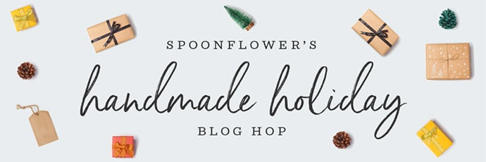 Spoonflower blog hop header