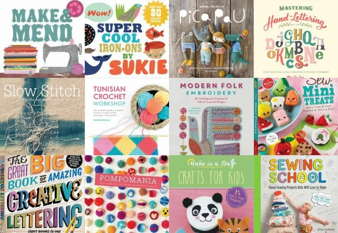 Gift Guide 14 Creative Book Ideas For Crafty Friends My Poppet Makes