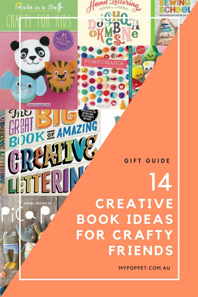 Gift Guide - Craft Books - mypoppet.com.au