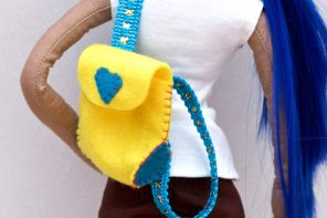 Kids Craft: Doll Backpack