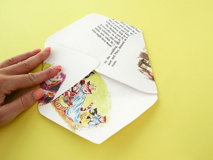 DIY recycled paper envelopes - mypoppet.com.au