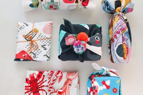 Tea Towel Furoshiki – An Eco Friendly way to Gift Wrap for Christmas