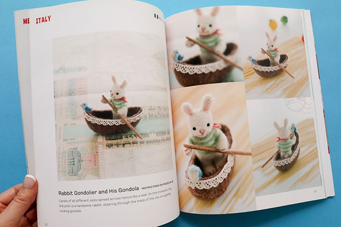 Needle Felting Craft Book Review - mypoppet.com.au