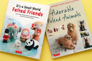 Book Review: 2 Adorable Needle Felting Books You'll Love