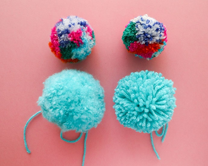 How to make pom poms - mypoppet.com.au