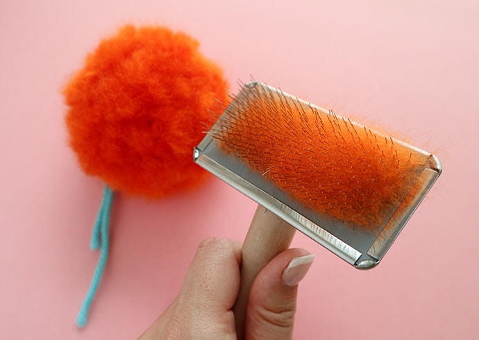 How to make a very fluffy pom pom - mypoppet.com.au