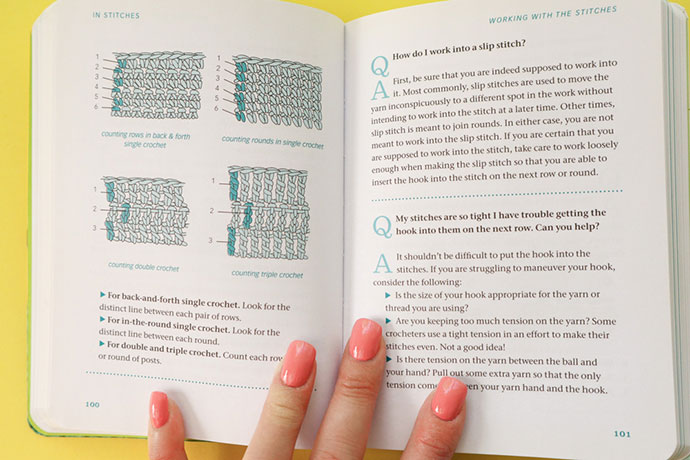 Book review - The Crochet Answer Book - mypoppet.com.au