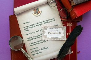 Harry Potter Party Invitation Template – Hogwarts Acceptance Letter