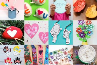 Mother's Day Gift that Kids can make - Mypoppet.com.au