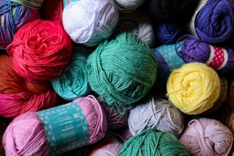 pastel cotton yarn