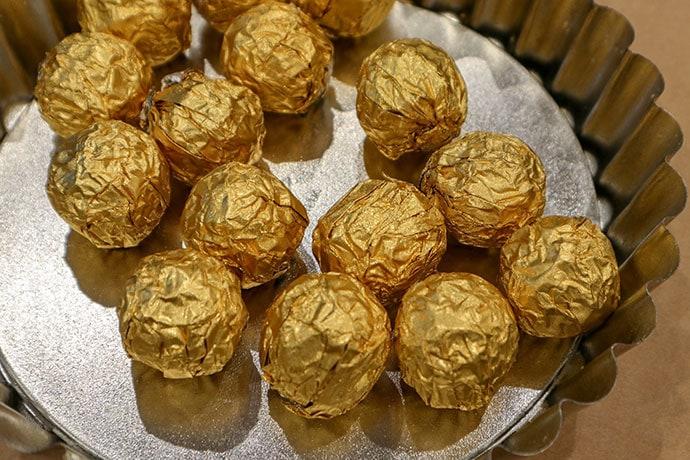 How to make a Chocolate Golden Snitch - mypoppet.com.au