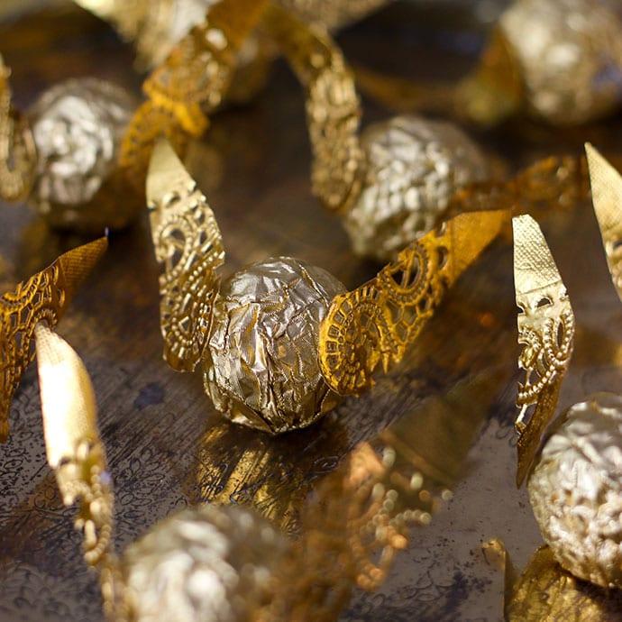 Harry Potter Chocolate Golden Snitch - Mypoppet.com.au