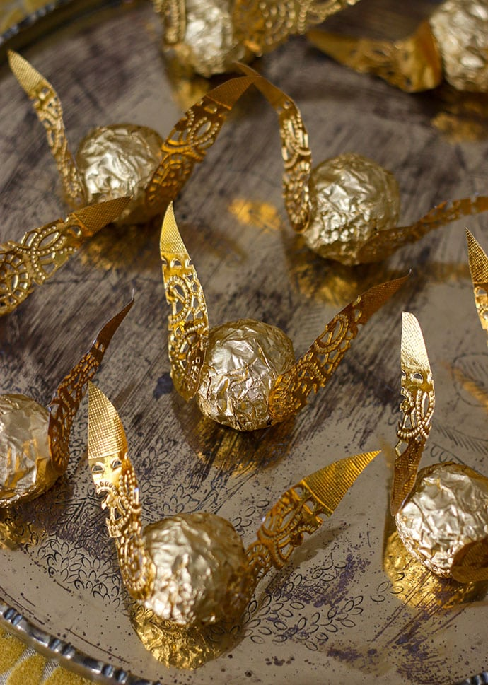 Harry Potter Chocolate Golden Snitch - Mypoppet.com.au
