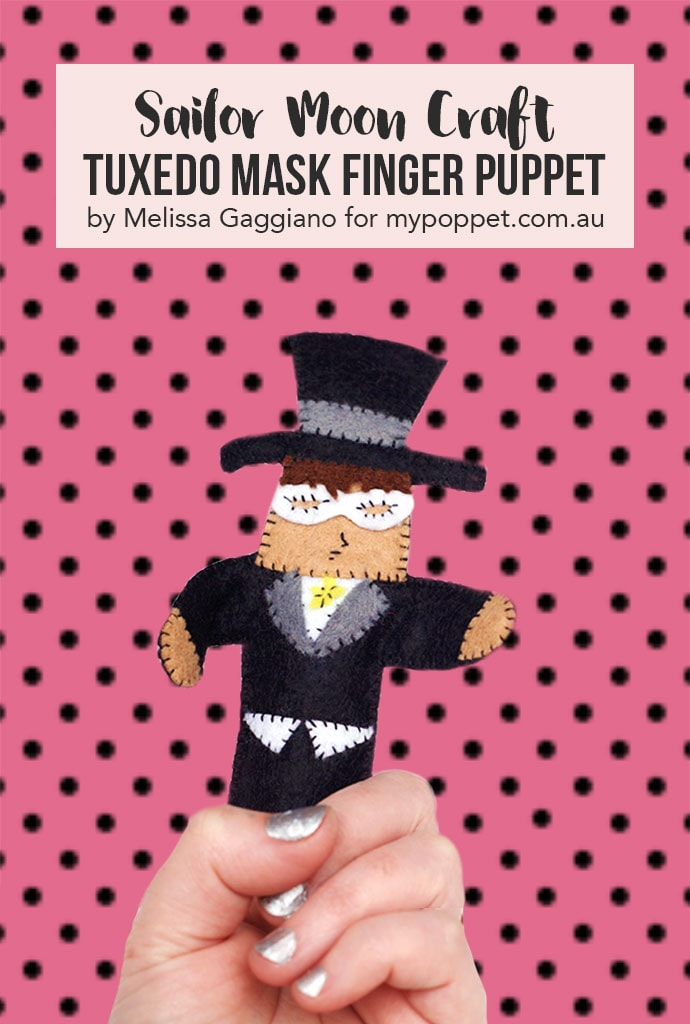 sailor moon finger puppet craft - mypoppet.com.au