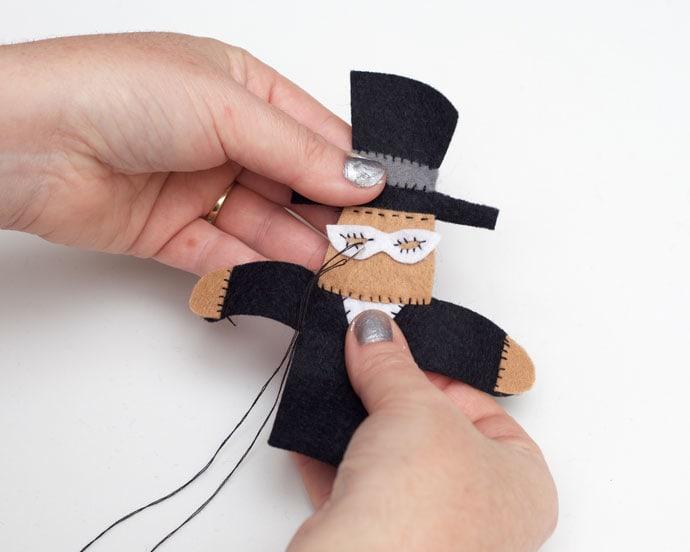 Tuxedo Mask finger puppet - mypoppet.com.au