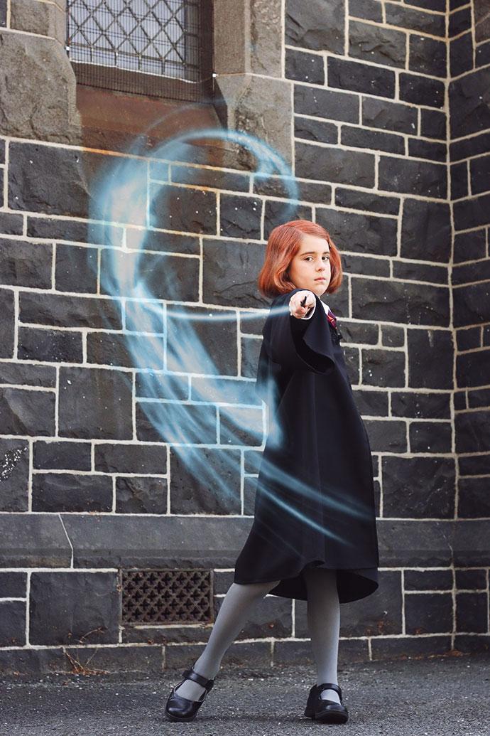 Ginny Weasly Cosplay spell patronus- mypoppet.com.au