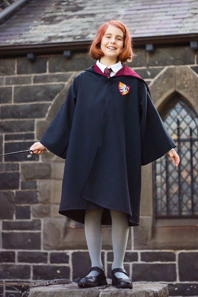 DIY Harry Potter Hogwarts Robe - mypoppet.com.au