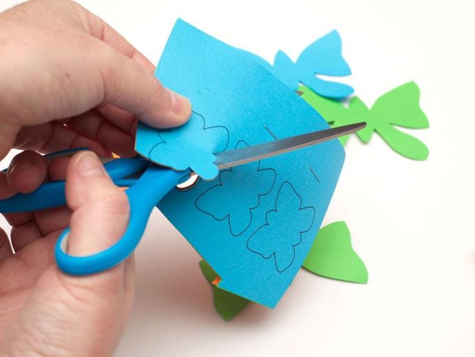 Butterfly paper lantern - mypoppet.com.au