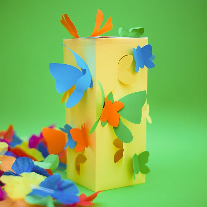 Butterfly Paper lantern craft - mypoppet.com.au